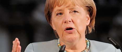 Angela Merkel. Foto:Jens Meyer/Scanpix